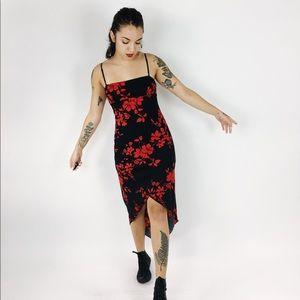 90's Bleeding Rose Dress